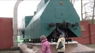 """Бронепоезд """"Козьма Минин"""" в Горьком"""