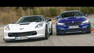 BMW M4 CS vs Corvette Grand Sport Z07