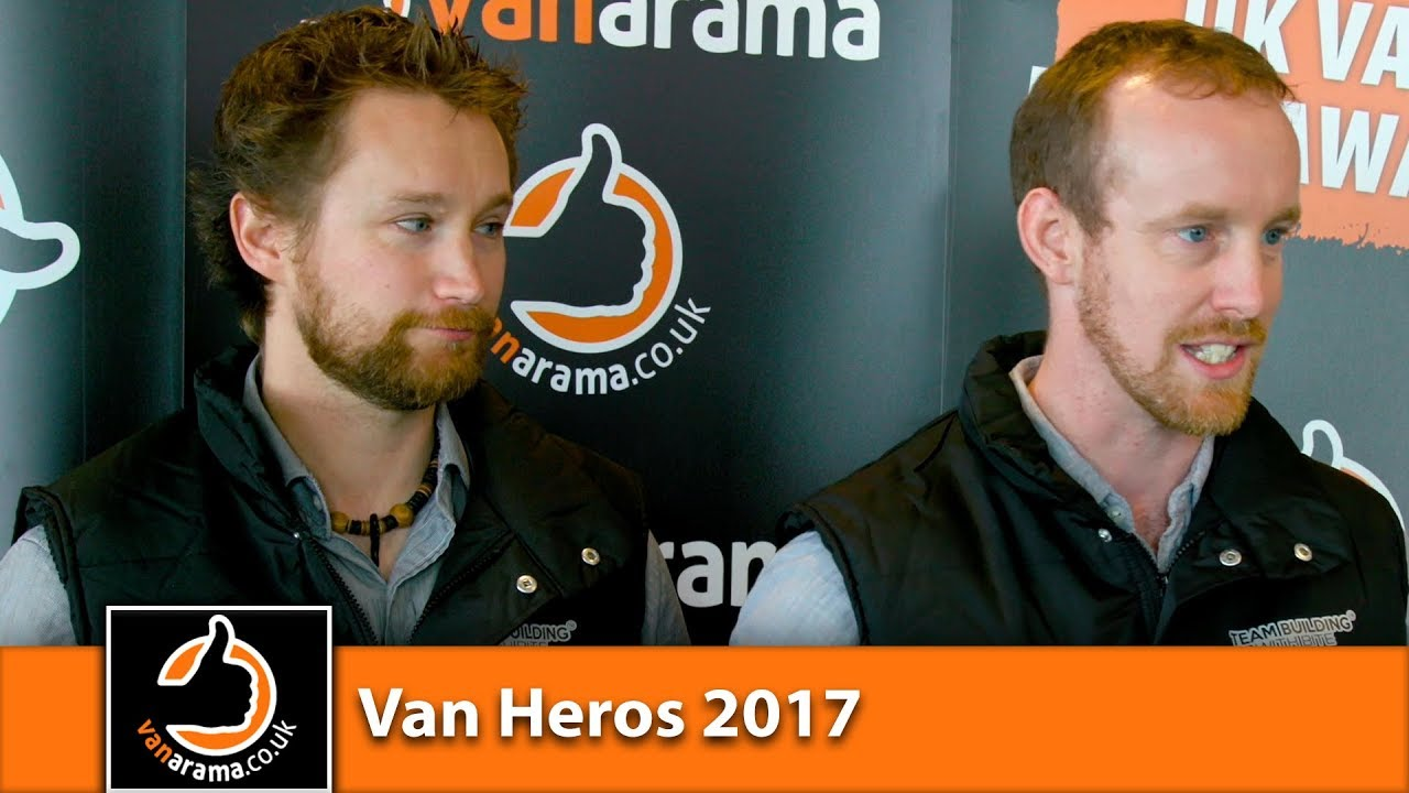 Vanarama Van Hero Awards 2017 Customer Service Winner - Team Building with Bite