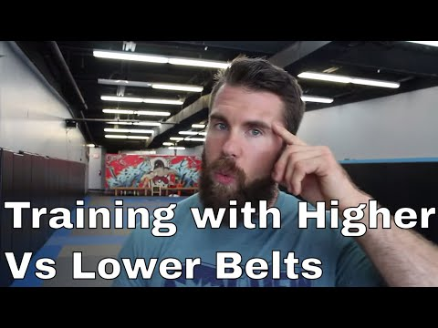 Rolling with White Belts is Better for Offensive Techniques in BJJ