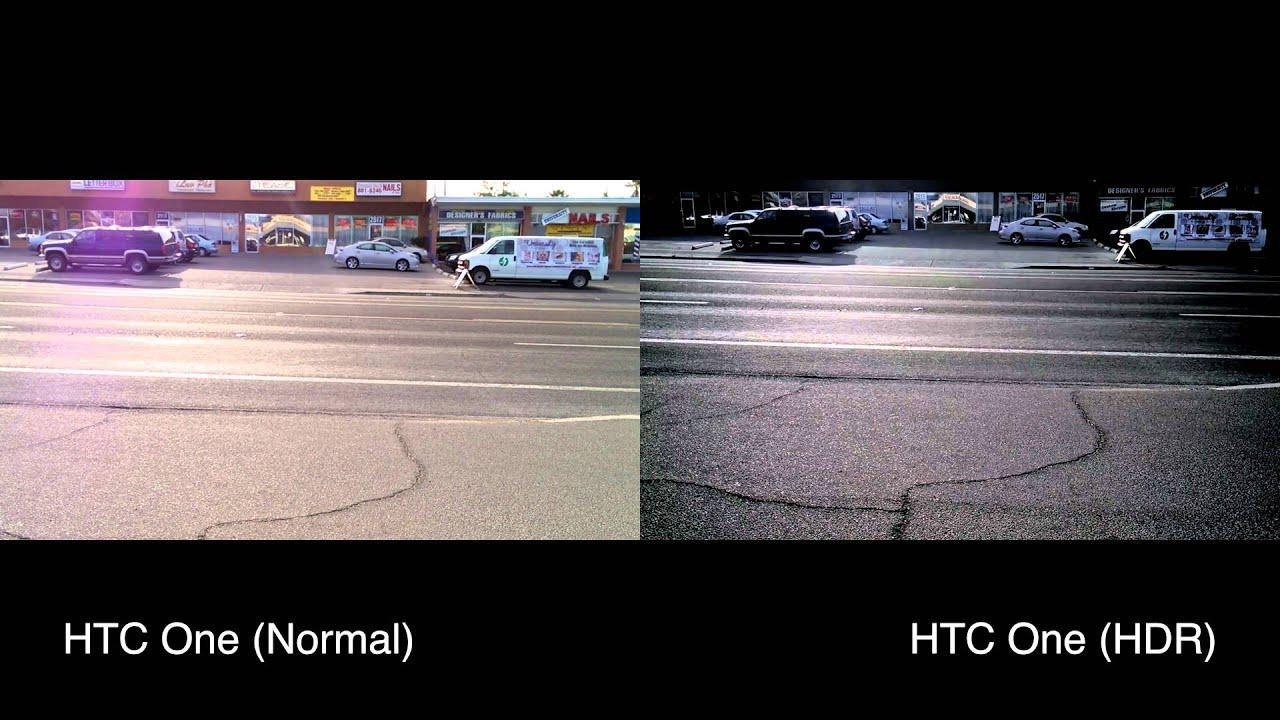 Pubg Hdr Vs No Hdr: HTC One HDR Vs Non HDR Video Comparison