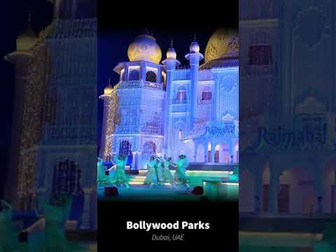 Bollywood Parks Dubai performance montage #shorts