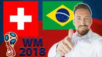 Brasilien - Schweiz | Prognose WM 2018 Tipps