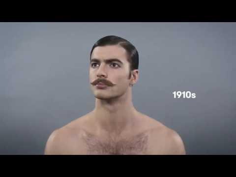386a507ca57 Как менялись мужские причёски за 100 лет - YouTube