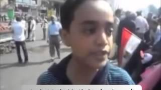 將來的總統?12歲的埃及男孩