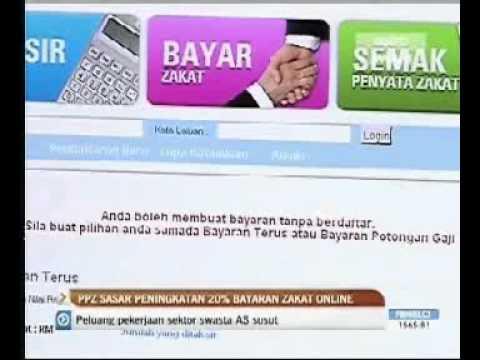 05/08/2011 - Buletin Awani - PPZ lancar Zakat Online