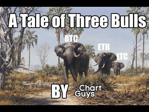 Bitcoin Ethereum Litecoin NEO Technical Analysis Chart 11/20/2017 by ChartGuys.com