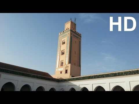 Oldest Mosque Marrakech Morocco Ben Youssef Tourism Travel Video Guide