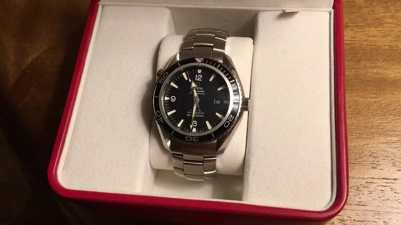 omega seamaster planet ocean xl unboxing 45mm cal 2500 youtube