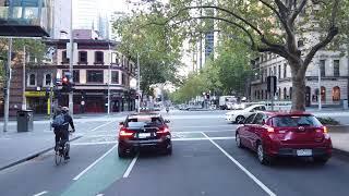 Melbourne CBD after stage 3 lockdown