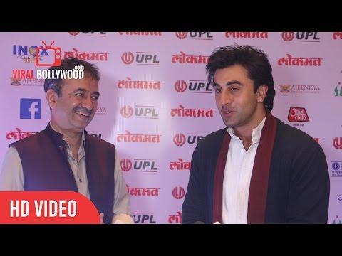 Junior Baba - Ranbir Kapoor In Sanjay Dutt Style At Lokmat Maharashtrian Of The Year Awards - 2017