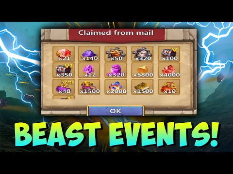 Floating Isle Dropping Insignia 9 BEAST Events Castle Clash