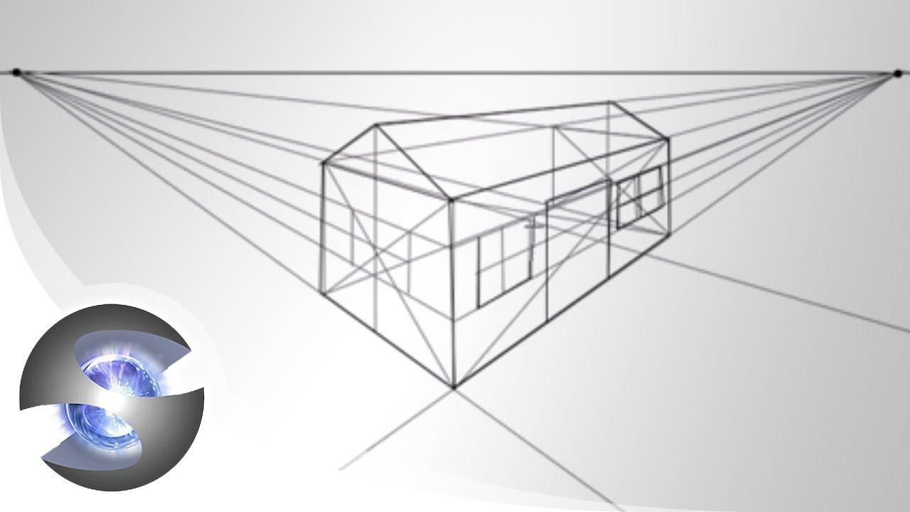 Prospettiva Centrale E Accidentale casa in prospettiva • disegno & pittura