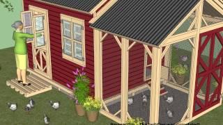 Cb200 - Combo Plans - Chicken Coop Plans + Garden Sheds - Storage Sheds Plans Construction