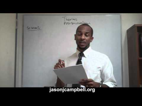 39. Theories Lecture: Post Structuralism Explained