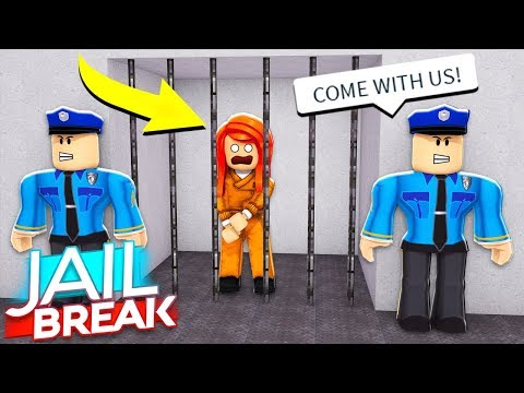 I SENT MY SISTER TO PRISON... Roblox Jailbreak