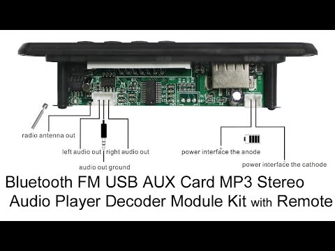 usb mp3 player module kit.. unboxing .. review ..in telugu