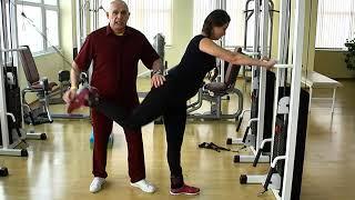 Уроки здоровья с доктором Бубновским. Программа 3. Тазобедренный сустав