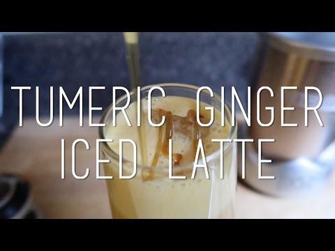 Tumeric Ginger Iced Latte
