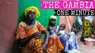 BEST TRAVEL:  Africa, The Gambia in one minute - 2015 FULL HD