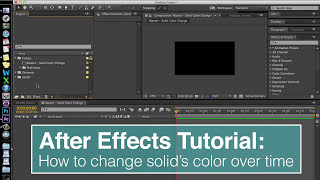 EVF After Effects Tutorial: Change Solid