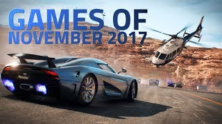 Need for Speed Payback, Star Wars Battlefront 2, and Other Games Release This November