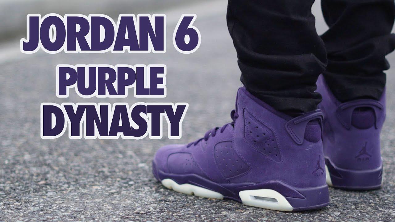 air jordan 6 purple