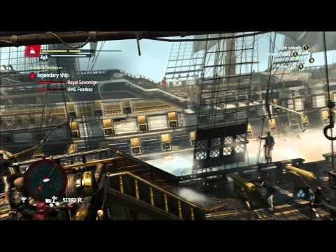 Assassin's Creed 4 Black Flag: Legendary Ships Walkthrough & Strategy