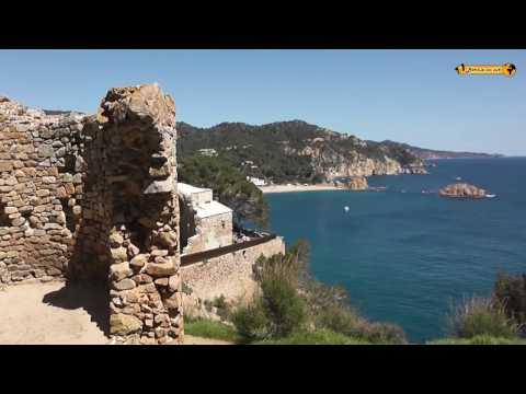 Tossa de Mar Catalonia Costa Brava Spain Spanien Urlaub Strand