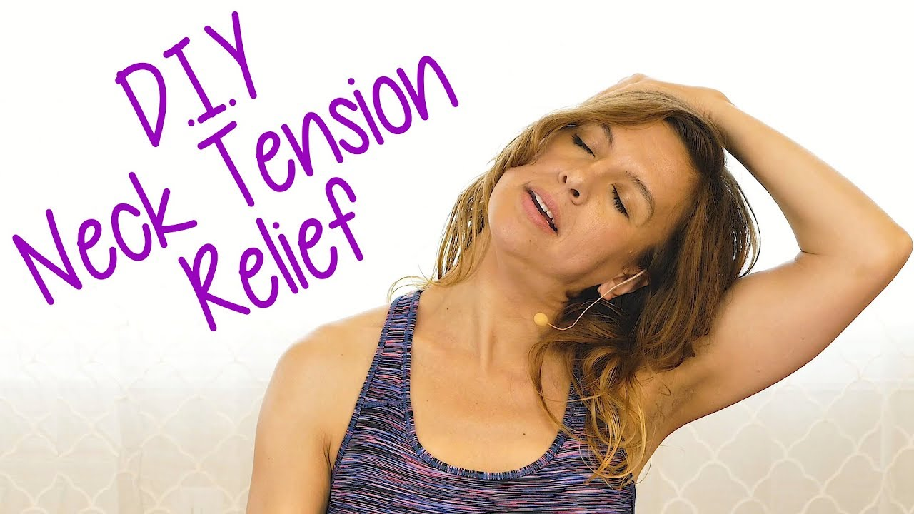 Easy Stretches for a Crick in the Neck! Self Massage to ...