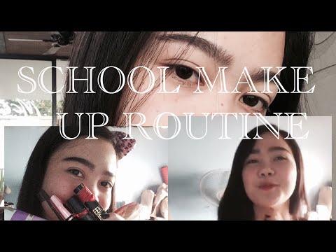 Simple School Make Up Routine | Gandang polbo at liptint lang 💋 |Philippines