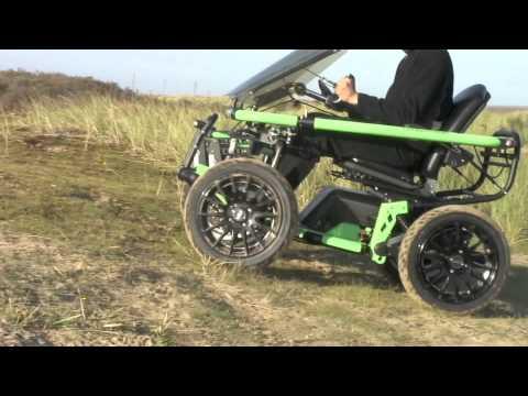 Extreme rollstuhl segway sitting bull test doovi for Sedia a rotelle tuning