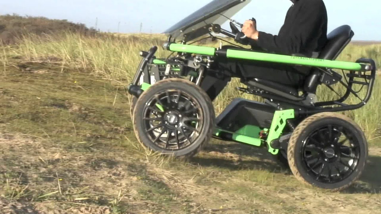 All Terrain Electric Wheelchair Cheap Folding Chaise Lounge Chairs Outdoor Overlander 2 Youtube