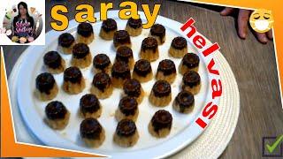 Saray Helvası Tarifi Nasıl yapılır Sibelin mutfağı ile yemek tarifleri