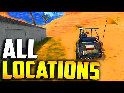 ALL GOLF CART LOCATIONS In Fortnite Season 5