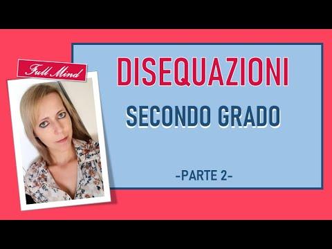 Come risolvere una disequazione di secondo grado from YouTube · Duration:  51 minutes 41 seconds
