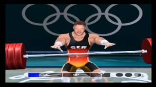 Athens 2004 PS2 Gameplay