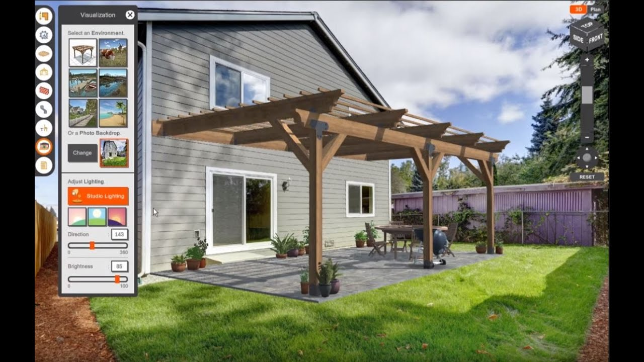 Simpson Strong Tie Pergola Planner Software Simpson Strong Tie