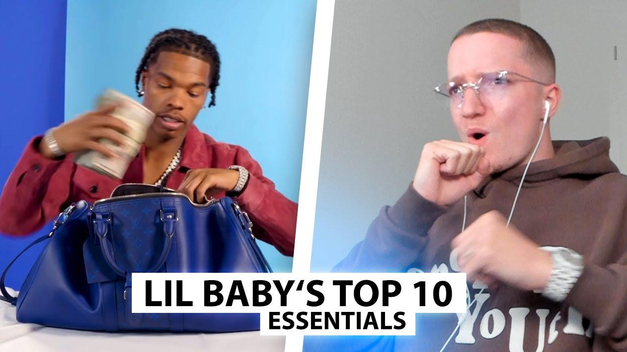 Justin reagiert auf 10 Essentials von Lil Baby..   Reaktion