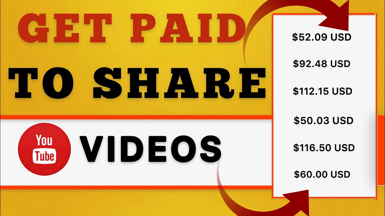 Get Paid To Share YouTube Videos   600     How To Make Money Online   Make Money Online in 2020