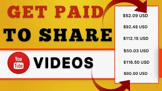 Get Paid To Share YouTube Videos ($600+)  How To Make Money Online  Make Money Online in 2020