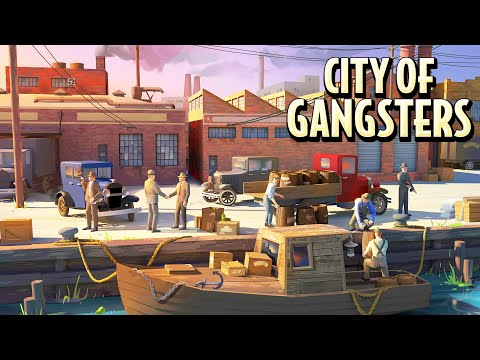 NEW - City of Gangsters | Mobster Tycoon in 1920s Prohibition Era United States - RPG Strategy Game