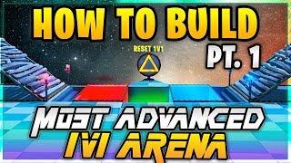 Hoe Te Maken: ''De Meest Geavanceerde 1v1 Arena'' (Pt.1) het Gebouw de Automatische 1v1 Reset & Starter Box