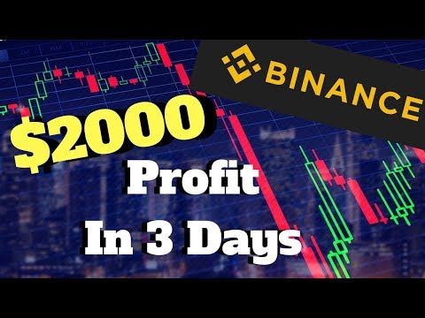 $2000 Profit In 3 Days Trading Crypto On Binance