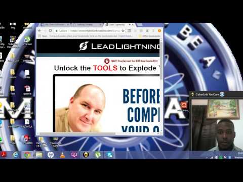 How to Register for Lead Lightning and then set it up.
