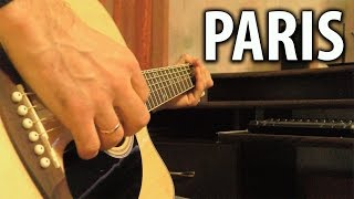 Paris - Guitar Cover (Acoustic Version with Drums by MagGuitar)