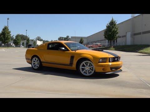 136012 2007 Ford Saleen Mustang Parnelli Jones 302 Youtube