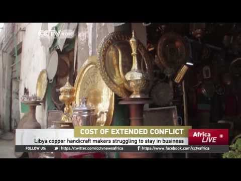 Libya Copper Handicraft Makers Struggling To Stay In Business