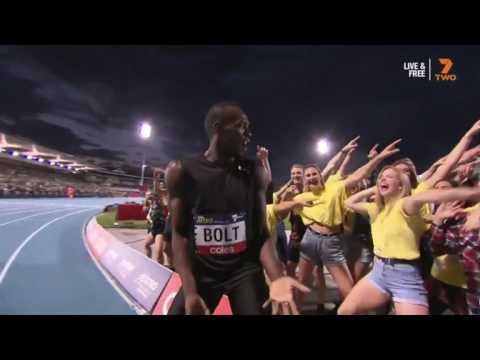 Usain Bolt 150m Nitro Athletics Melbourne 2017