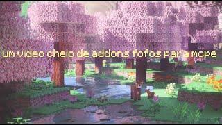 um vídeo cheio de addons fofos para mcpe screenshot 2